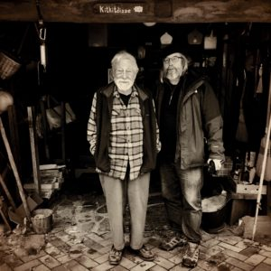 Gary Snyder and Mark Gonnerman Kitkitdizze 8FEB19