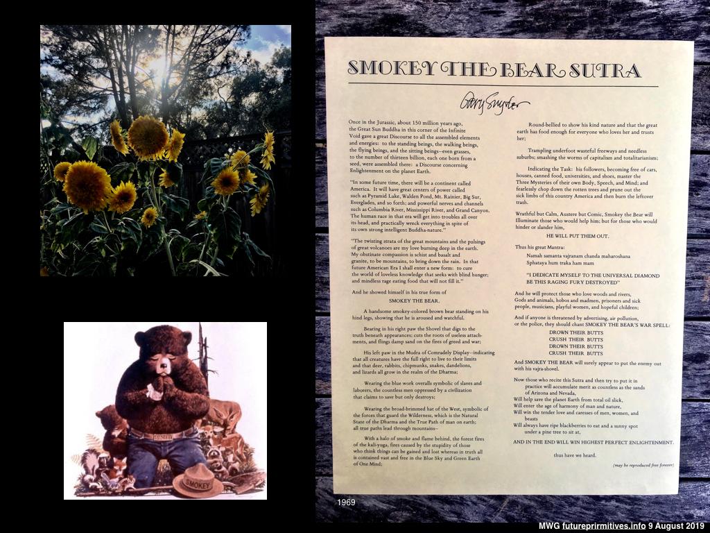 Smokey the Bear Rebirthday Sutra 9AUG19.001